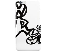 vw steppin on  iPhone Case/Skin