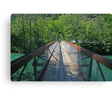 Bridge over the Skagit River Canvas Print