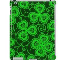 Clover. Lace. Seamless pattern. iPad Case/Skin
