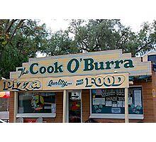The Cook O' Burra Shop Photographic Print