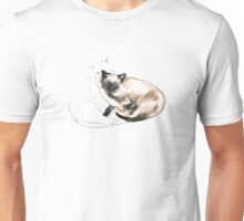Chinky and Chang, ink drawing #2 Unisex T-Shirt