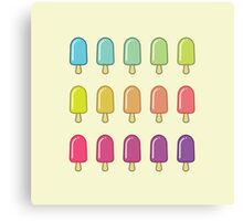 Popsicle Gradient Canvas Print