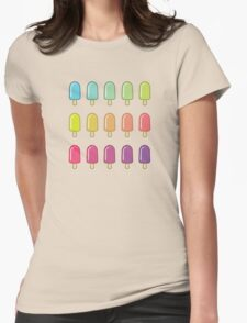 Popsicle Gradient Womens Fitted T-Shirt