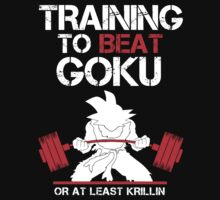 Training to Beat Son Goku by Pickadree