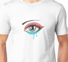 Red Blue Colors Eye Unisex T-Shirt