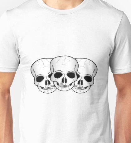 Skulls Fantasy Art Design Unisex T-Shirt