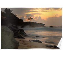 Waimea Sunset Poster