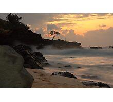 Waimea Sunset Photographic Print