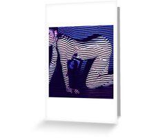 zebra daze Greeting Card