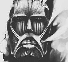Colossal Titan - Attack on Titan by zetsuennoadams
