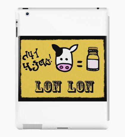 LON LON MILK iPad Case/Skin