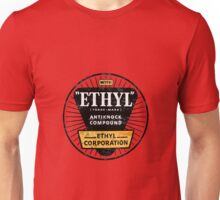 Ethyl logo • old patina Unisex T-Shirt