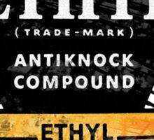 Ethyl logo • old patina Sticker