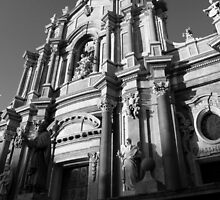 The Cathedral  of Catania  by Andrea Rapisarda