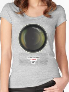 Canon Ultrasonic Women's Fitted Scoop T-Shirt