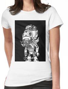 Cthulhu Rocks Womens Fitted T-Shirt