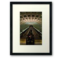 DC Metro Underground Framed Print
