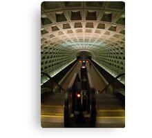 DC Metro Underground Canvas Print