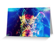 The Crown {Chakra of Consciousness} Greeting Card