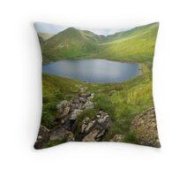 Kentmere Reservoir Throw Pillow