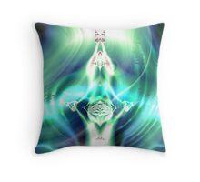 A Goddess Emerges Throw Pillow