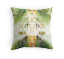 Lotus Goddess Throw Pillow