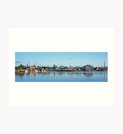 The Old Port Adelaide Art Print