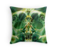 Birth of the Water Lilies Throw Pillow