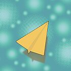 Paper Airplane 117 by YoPedro