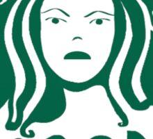 Poison Ivy Coffee Sticker