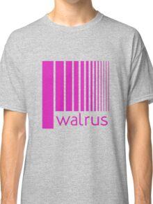 Walrus Fucsia Doppler Classic T-Shirt