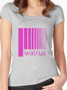 Walrus Fucsia Doppler Women's Fitted Scoop T-Shirt