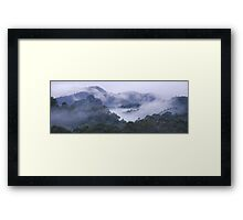 Hiding mount Framed Print
