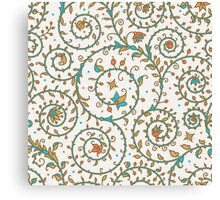 Medieval Seamless Pattern. Canvas Print