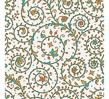 Medieval Seamless Pattern. Photographic Print