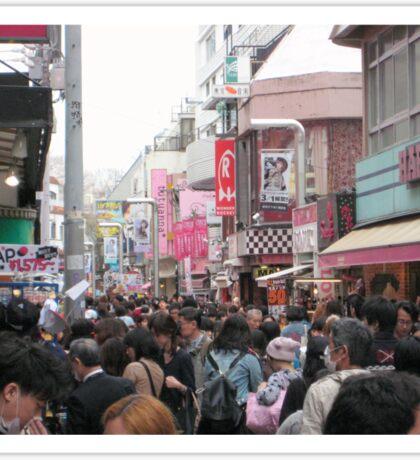 Takeshita Street, March 2013 : Photo Friday at meauxtaku.com Sticker