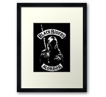 Black Riders Framed Print