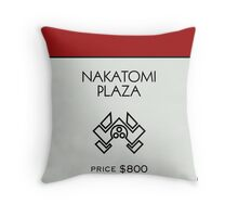 Nakatomi Plaza - Property Card Throw Pillow