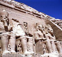 Temple of Ramesses II by Wayne Gerard Trotman