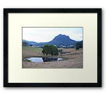Three ponds & a mount Framed Print