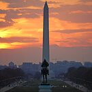 D.C. City Sunset by Heather Short