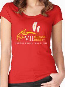 Midgar Derby Women's Fitted Scoop T-Shirt