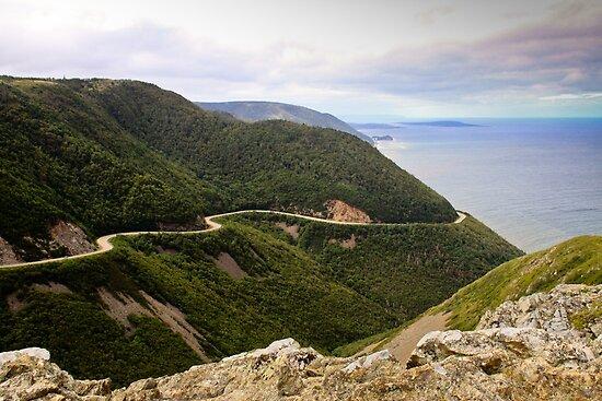 Cabot Trail, Cape Breton Island by Robert Kelch, M.D.
