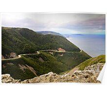 Cabot Trail, Cape Breton Island Poster