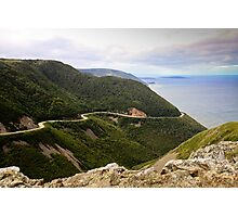 Cabot Trail, Cape Breton Island Photographic Print