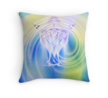 A High Priestess Has Ascended Throw Pillow