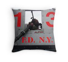No 13 Pumper Throw Pillow