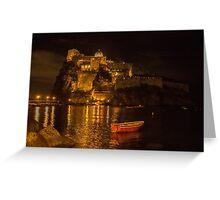 Aragonese Castle Greeting Card