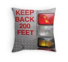 Keep Back Throw Pillow