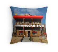 'Ettamogah Pub' Throw Pillow